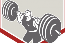 Weightlifting and hemorrhoids.