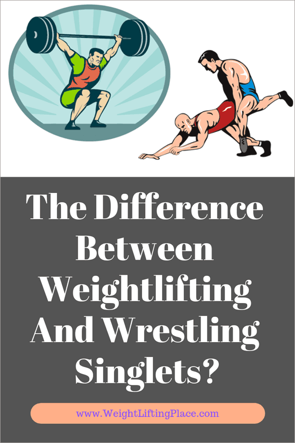 The Difference Between Weightlifting And Wrestling Singlets?